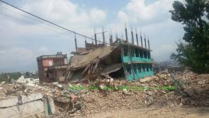 Earthquake relief program Nepal